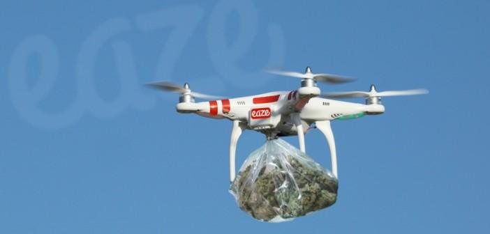 Drony Będą Dostarczać Medyczną Marihuanę?, haszysz.info