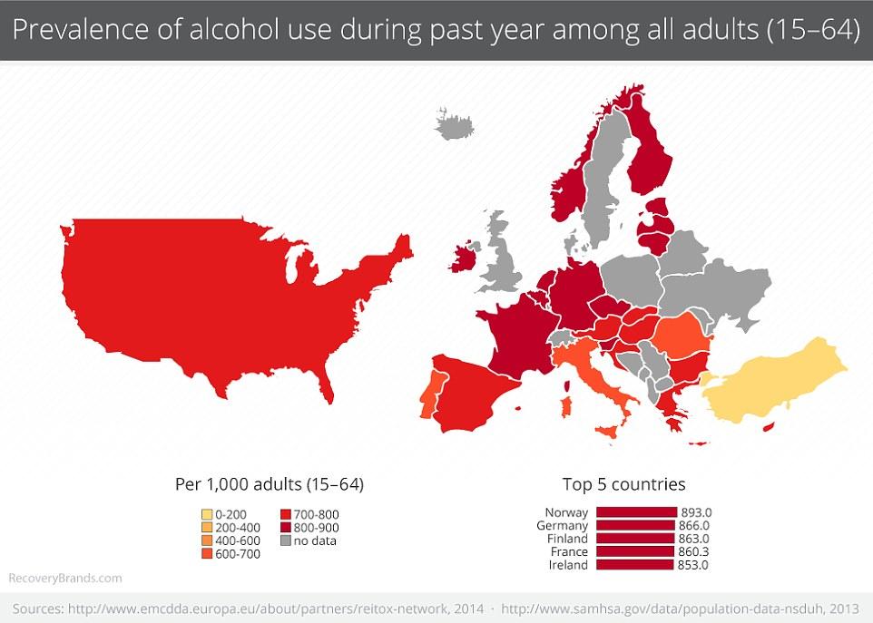 Mapa Pokazująca, w Których Krajach Pali się Najwięcej Marihuany, haszysz.info