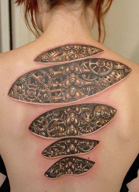 Tatuaże 3d Dzieła Sztuki Czy Ohyda Blog Haszysz
