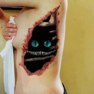 Tatuaże 3D   dzieła sztuki czy ohyda?, haszysz.info