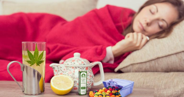Cannabis przy przeziębieniu, grypie i towarzyszącemu im kaszlu, haszysz.info